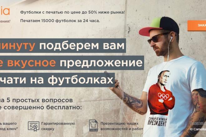 Делаю копии landing page 40 - kwork.ru