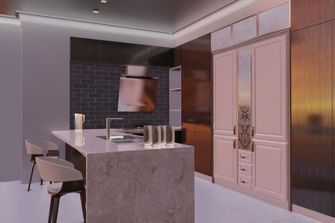 Дизайн-проект кухни. 3 варианта 22 - kwork.ru