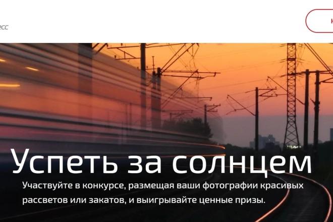 Качественная копия Landing Page на Tilda 1 - kwork.ru
