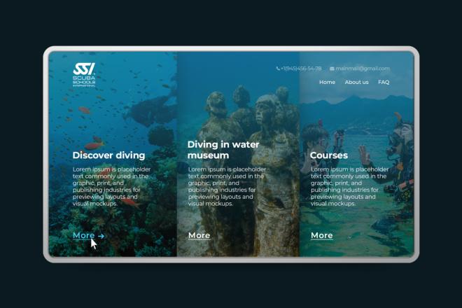 Landing page, создай свой уникальный стиль. 1 блок 14 - kwork.ru