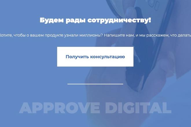 Сверстаю сайт по любому макету 155 - kwork.ru