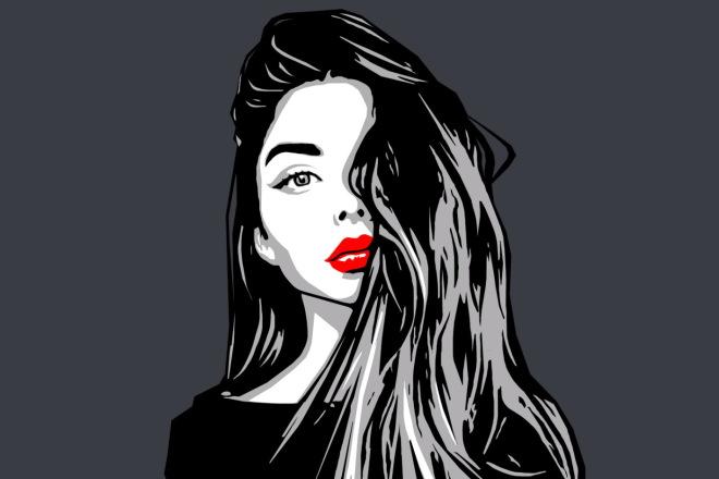 Качественный поп-арт портрет по вашей фотографии 4 - kwork.ru