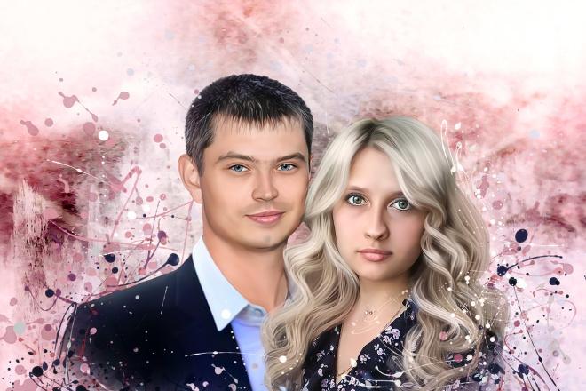 Создам стилизованный цифровой портрет 24 - kwork.ru