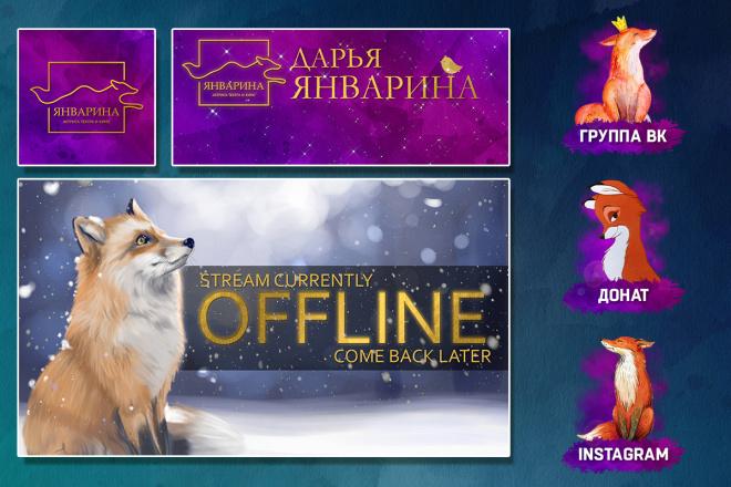 Оформление Twitch канала 112 - kwork.ru