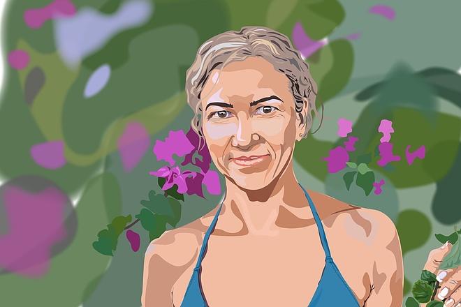Нарисую портрет в растровой или векторной графике 4 - kwork.ru