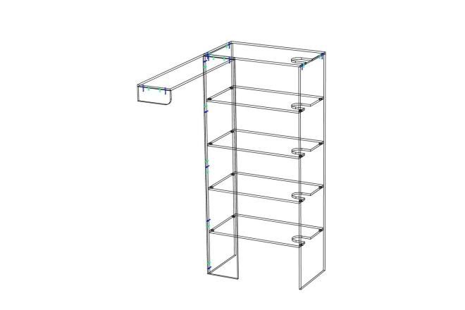 Проект корпусной мебели, кухни. Визуализация мебели 47 - kwork.ru