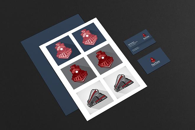 Создам логотип 3 варианта + PNG + вектор 4 - kwork.ru