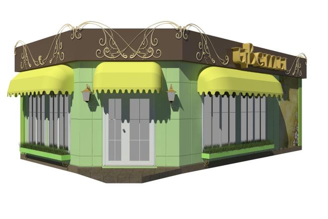 Визуализация экстерьера, фасадов здания 20 - kwork.ru