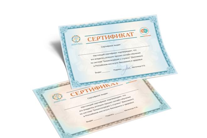 Сделаю сертификат 4 - kwork.ru