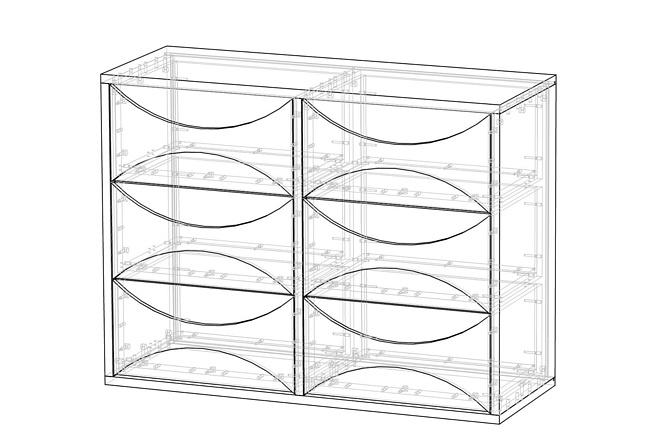Конструкторская документация для изготовления мебели 108 - kwork.ru