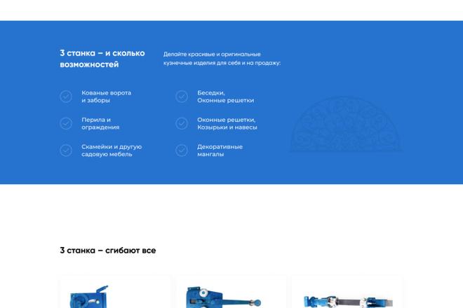 Создание Landing Page, одностраничный сайт под ключ на Tilda 15 - kwork.ru