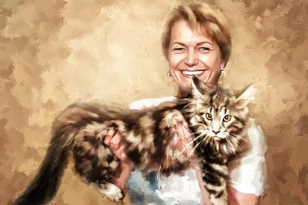 Создам стилизованный цифровой портрет 17 - kwork.ru