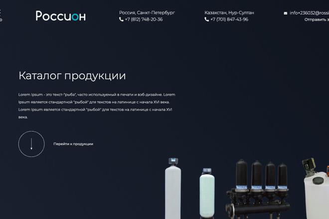 Сверстаю сайт по любому макету 113 - kwork.ru
