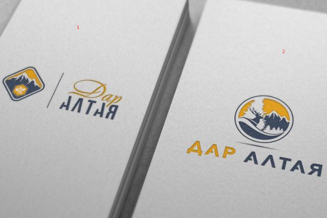 Нарисую удивительно красивые логотипы 13 - kwork.ru