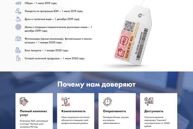 Сделаю продающий Лендинг для Вашего бизнеса 21 - kwork.ru