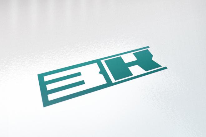 Логотип в 3 вариантах, визуализация в подарок 70 - kwork.ru