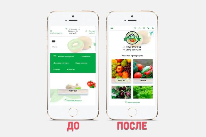 Адаптация сайта под все разрешения экранов и мобильные устройства 25 - kwork.ru