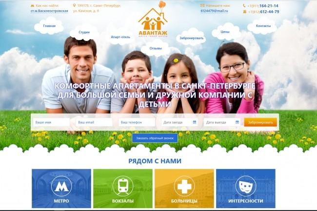 Сверстаю адаптивный сайт по вашему psd шаблону 23 - kwork.ru