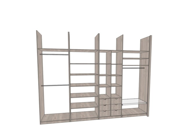 Проектирование корпусной мебели 11 - kwork.ru