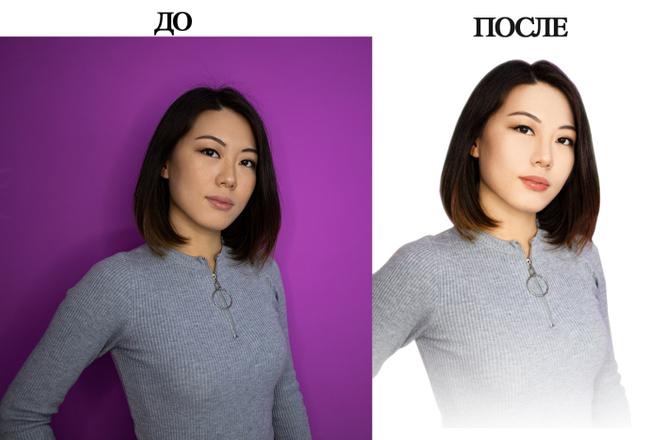 Обтравка изображений. Сменю,вырежу фон на белый или любой предложенный 4 - kwork.ru