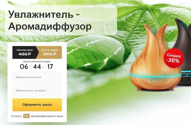 Скопировать Landing page, одностраничный сайт, посадочную страницу 16 - kwork.ru
