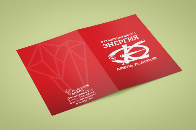 Дизайн-макет буклета, евробуклета 4 - kwork.ru