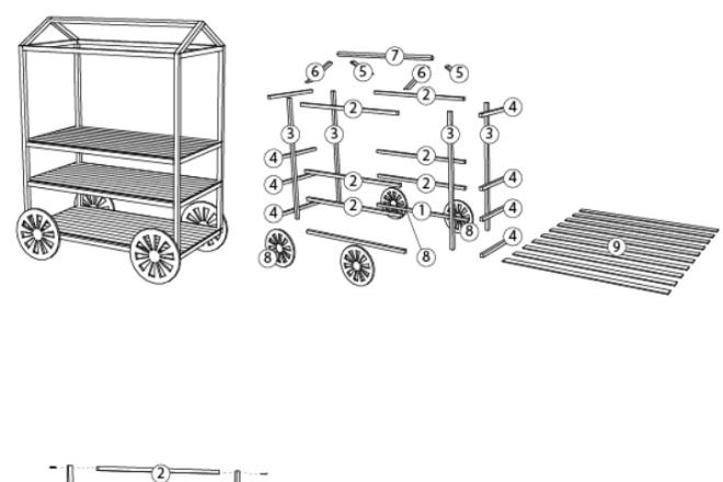 Схема, инструкция сборки мебели 12 - kwork.ru