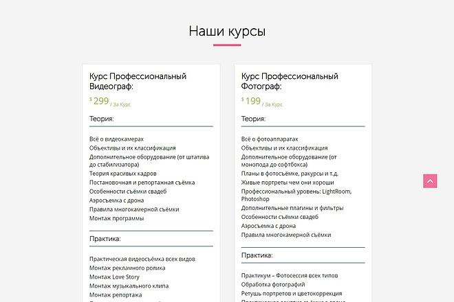Сайт под ключ. Landing Page. Backend 207 - kwork.ru