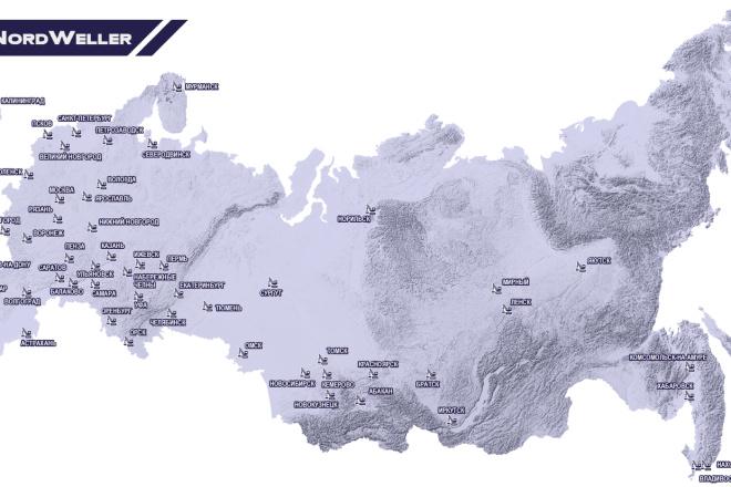 Оформлю карты, схемы, картограммы 2 - kwork.ru