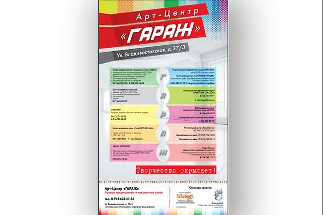 Плакат. Постер. Афиша 1 - kwork.ru
