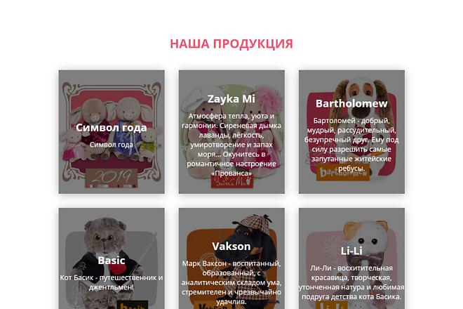 Landing Page с 0 + дизайн 103 - kwork.ru
