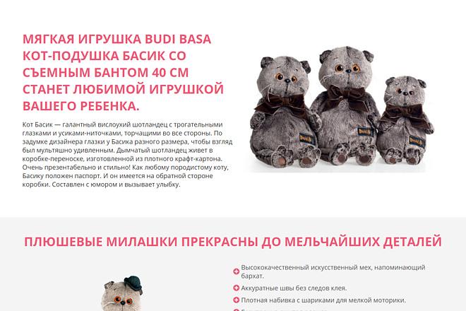 Landing Page с 0 + дизайн 102 - kwork.ru