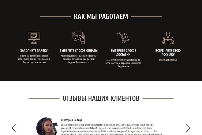 Landing Page с 0 + дизайн 99 - kwork.ru