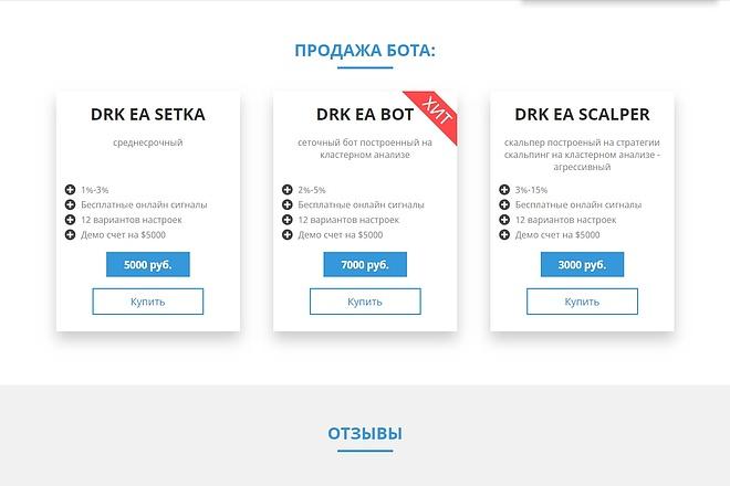 Landing Page с 0 + дизайн 95 - kwork.ru