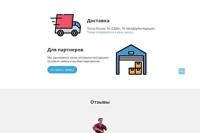 Landing Page с 0 + дизайн 92 - kwork.ru