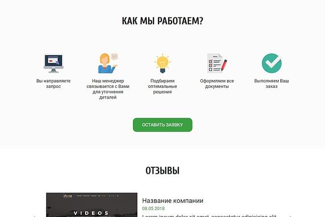 Landing Page с 0 + дизайн 86 - kwork.ru