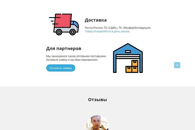 Landing Page с 0 + дизайн 83 - kwork.ru