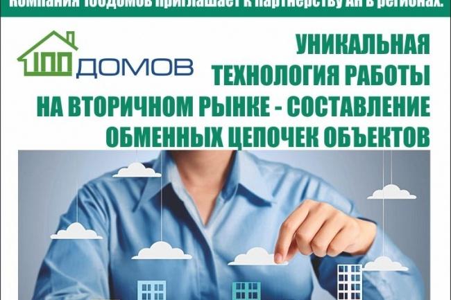 Листовка, флаер качественно и быстро 3 - kwork.ru