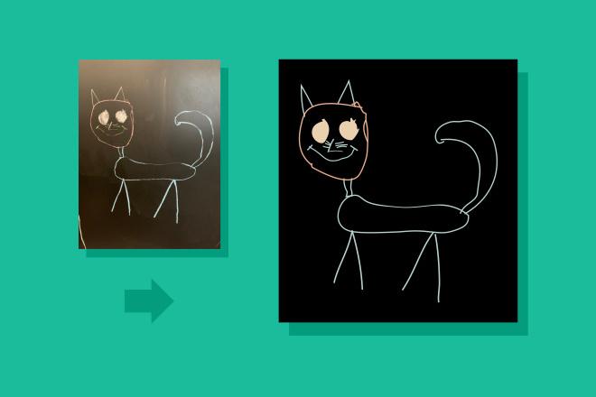 Преобразую в вектор растровое изображение любой сложности 5 - kwork.ru
