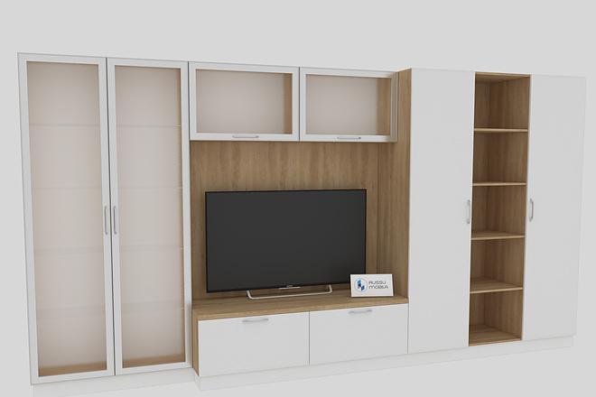 Визуализация мебели, предметная, в интерьере 11 - kwork.ru