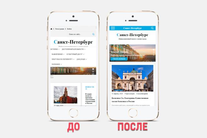 Адаптация сайта под все разрешения экранов и мобильные устройства 4 - kwork.ru