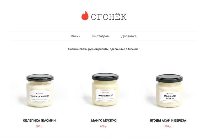 Интернет-магазин на Тильда под ключ 7 - kwork.ru