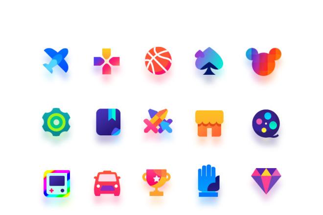 До 10 иконок или кнопок для проекта 5 - kwork.ru