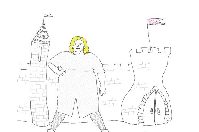 Быстро нарисую веселые иллюстрации 3 - kwork.ru