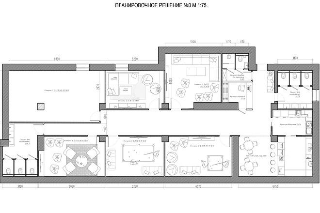 Планировочное решение вашего дома, квартиры, или офиса 31 - kwork.ru