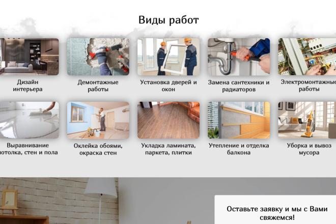 Вёрстка сайтов по доступной цене 22 - kwork.ru