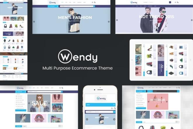 Качественный интернет-магазин на WordPress и WooCommerce под ключ 1 - kwork.ru