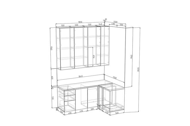 Конструкторская документация для изготовления мебели 97 - kwork.ru