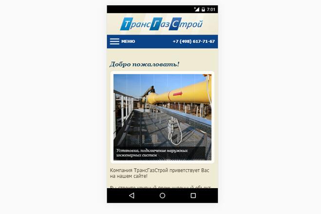 Адаптация сайта под мобильные устройства 93 - kwork.ru