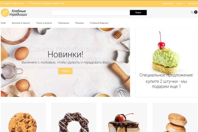 Создам интернет-магазин на CMS Opencart 1 - kwork.ru